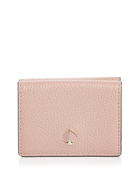 kate spade new york - Polly Small Leather Trifold Wallet