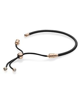 Pandora - Rose Gold Tone-Plated Sterling Silver Sliding Bracelet