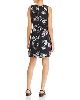 Daniel Rainn - Sleeveless Floral-Print Dress