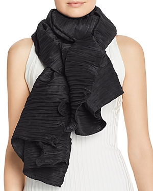 Echo Accessories OVERSIZED PLISSE WRAP SCARF