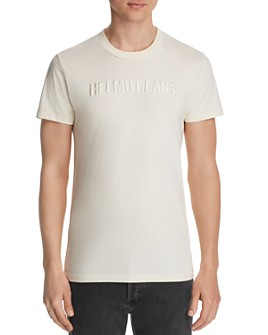 Helmut Lang - Standard Tonal Embroidered Logo Tee