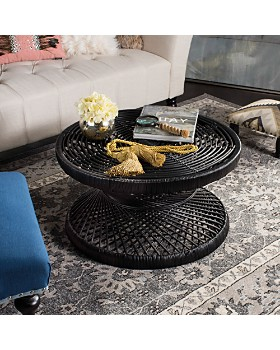 SAFAVIEH - Couture Grimson Large Bowed Coffee Table