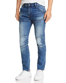 G-STAR RAW - 5620 3-D Slim Fit Jeans in Vintage Azure
