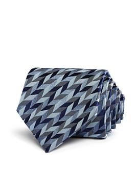 Armani - Oversized Multi-Herringbone Classic Tie