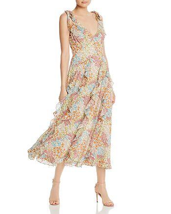 Rebecca Taylor - Ava Floral Midi Dress