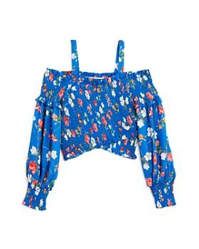 bebe - Girls' Floral Top & Shorts - Big Kid