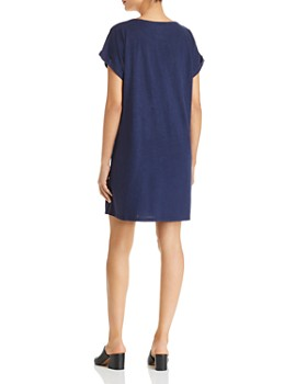 Eileen Fisher - Short-Sleeve T-Shirt Dress