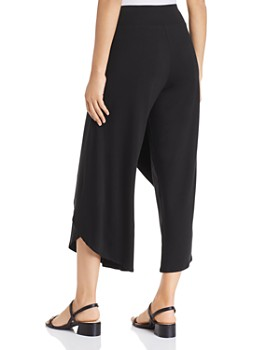 Eileen Fisher - Faux-Wrap Cropped Pants