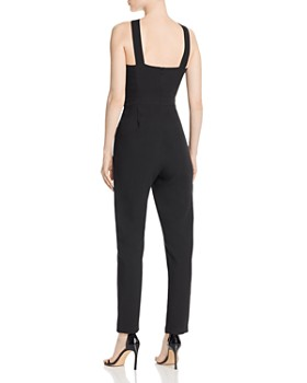 Adelyn Rae - Channing Woven Twist-Neck Jumpsuit