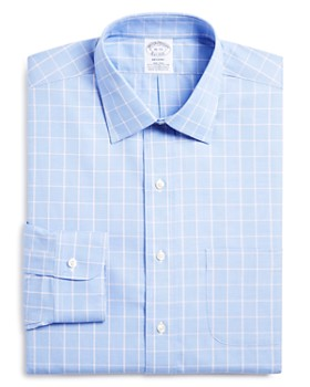 Brooks Brothers - Glen Plaid Classic Fit Dress Shirt