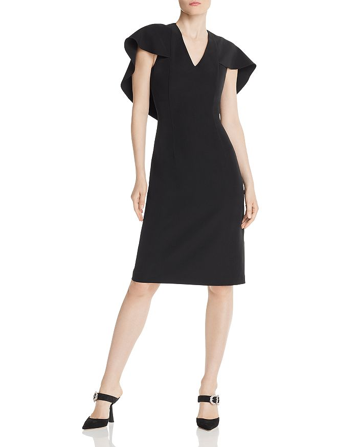 nanette Nanette Lepore - Cape-Overlay Dress