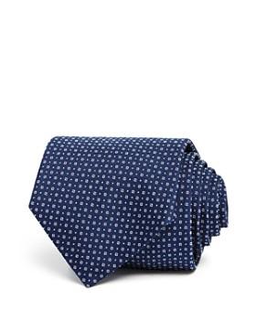 HUGO - Micro Circles Dot Neat Skinny Tie