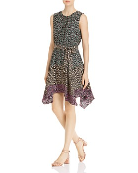 Rebecca Taylor - Louisa Sleeveless Floral Mix-Print Dress