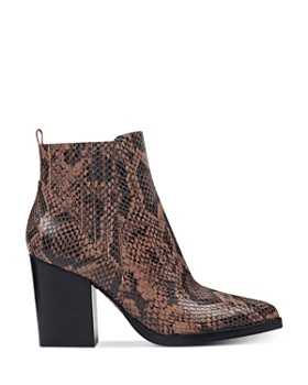 Marc Fisher LTD. - Women's Alva Snake-Print Booties