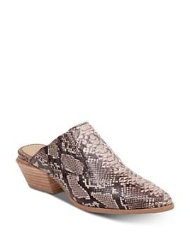 Splendid - Women's Hailee 2 Stacked Heel Mules
