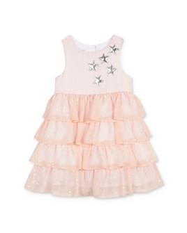 Pippa & Julie - Girls' Tiered Star Dress - Baby