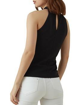 KAREN MILLEN - Cut-In Shoulder Top