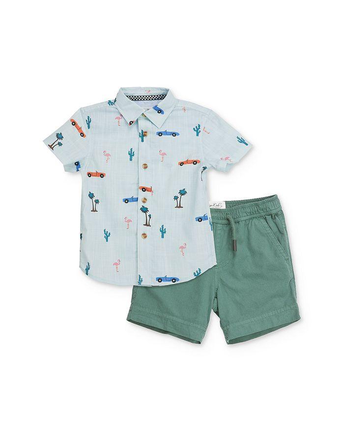 Sovereign Code - Boys' Car-Print Shirt & Shorts Set - Baby
