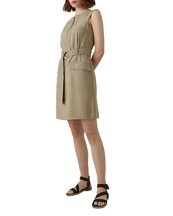 KAREN MILLEN - Belted Utility Dress