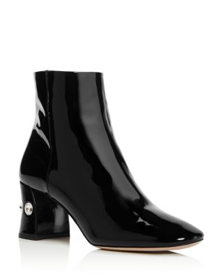 Rocchetto Patent Leather Booties