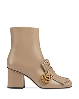73bc85f505d ... Gucci - Women s Marmont Leather Ankle Boots