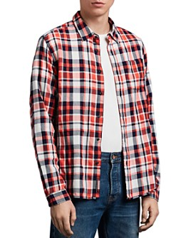 Scotch & Soda - Plaid Slim Fit Shirt