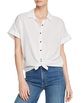 Splendid - Canyon Tie-Hem Button-Down Shirt