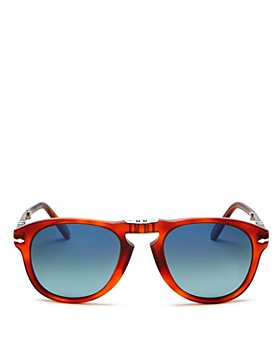 Persol - Men's Steve McQueen™ Polarized Foldable Round Sunglasses, 54mm