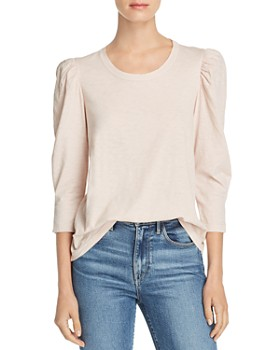 Velvet by Graham & Spencer - Angelina Puff-Sleeve Tee
