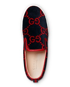 Gucci - Men's Terry Cloth Slip-On Sneakers