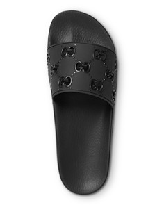 Gucci - Men's Rubber GG Slide Sandals