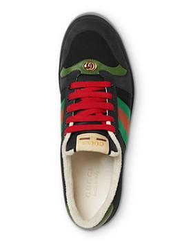 94fd842af6e Gucci - Men's Screener Suede Sneakers Gucci - Men's Screener Suede Sneakers
