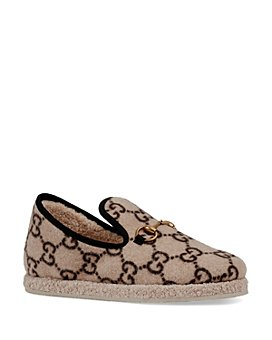 Gucci - Women's Fria GG Wool Loafers