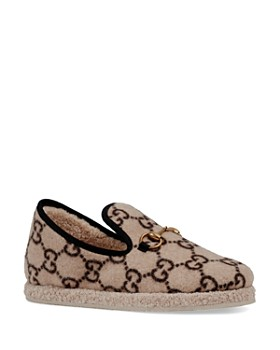 9f74f849033 Gucci - Women s Fria GG Wool Loafers ...
