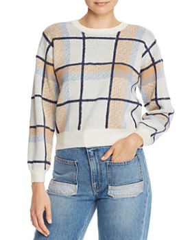 Joie - Austine Plaid Sweater