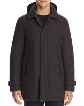 Herno - Laminar Houndstooth Raincoat - 100% Exclusive