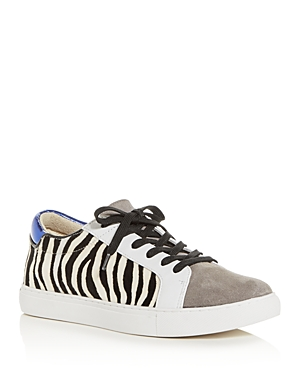 Women's Kam Animal Print Lace Up Sneakers