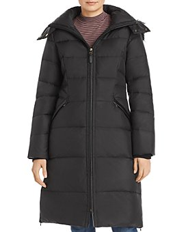 Cole Haan - Faux Fur-Trim Puffer Coat
