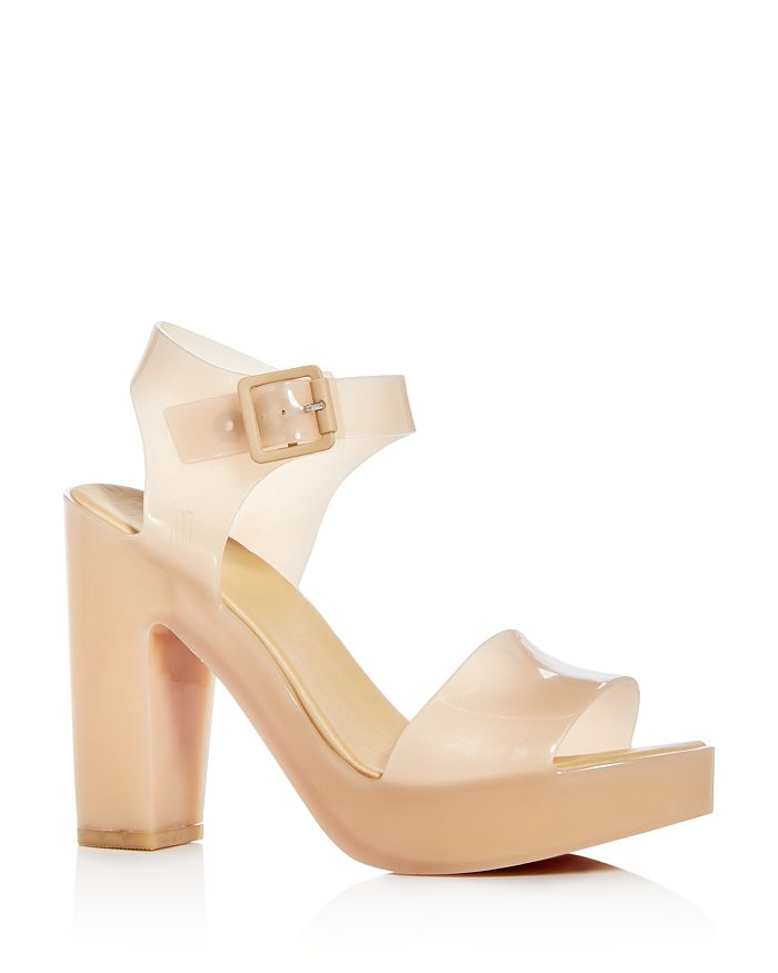 Melissa Women S Mar Block Heel Platform Sandals