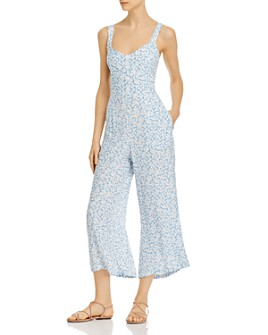 Faithfull the Brand - Marija Wide-Leg Floral-Print Jumpsuit