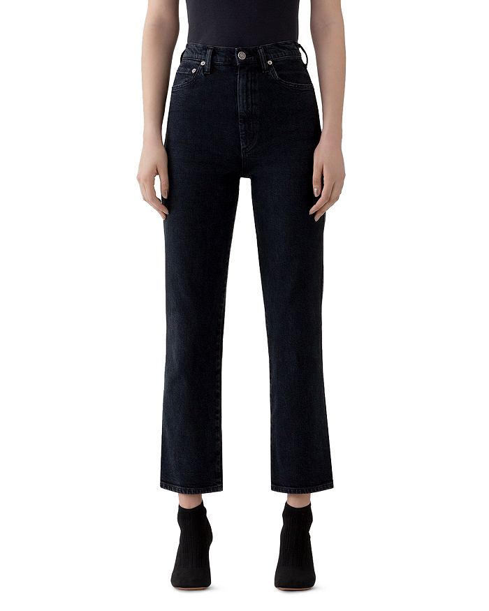 AGOLDE - Pinch High-Rise Kick-Flare Jeans in Realm