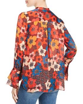 Elie Tahari - Safiya Silk Floral-Print Blouse