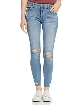 DL1961 - Florence Ankle Skinny Jeans in Ruston