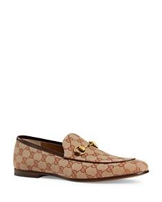 Gucci - Men's Jordaan GG Velvet Loafers