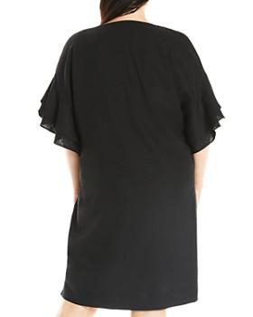 Estelle Plus - Summer Breeze Flounce-Sleeve Dress