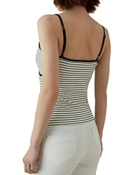 KAREN MILLEN - Crossover Striped Camisole