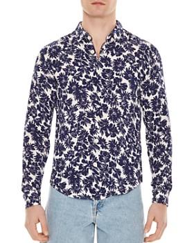 bd15302a438e Sandro - Flower Slim Fit Shirt ...