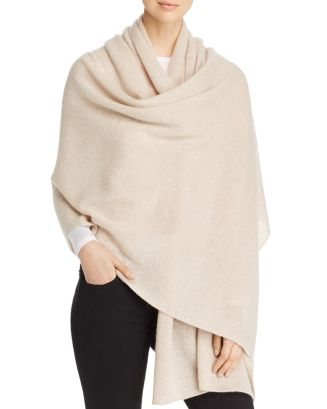 Cashmere Travel Wrap   100 Percents Exclusive by C By Bloomingdale's