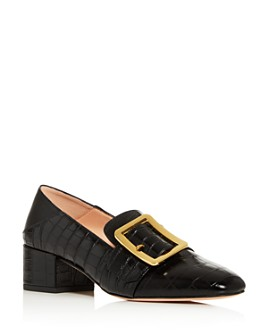 Bally - Women's Janelle Block-Heel Loafers