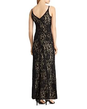 Ralph Lauren - Floral Lace Gown